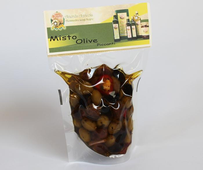 Olive miste piccanti 250 gr