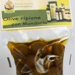 Olive ripiene con mandorla 250 gr