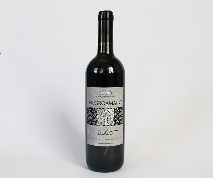 Vino Negroamaro (lavorato in botte) 0,75 cl