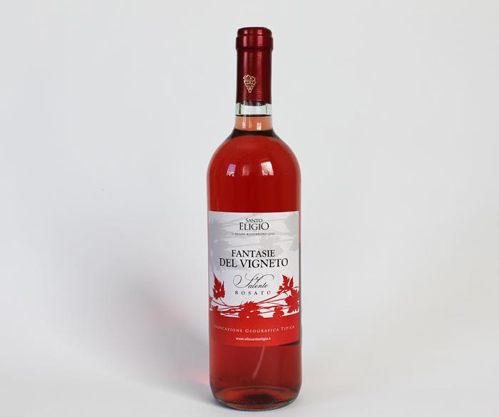 Fantasie del Vigneto, Vino rosato (lavorato in botte) 0,75 cl